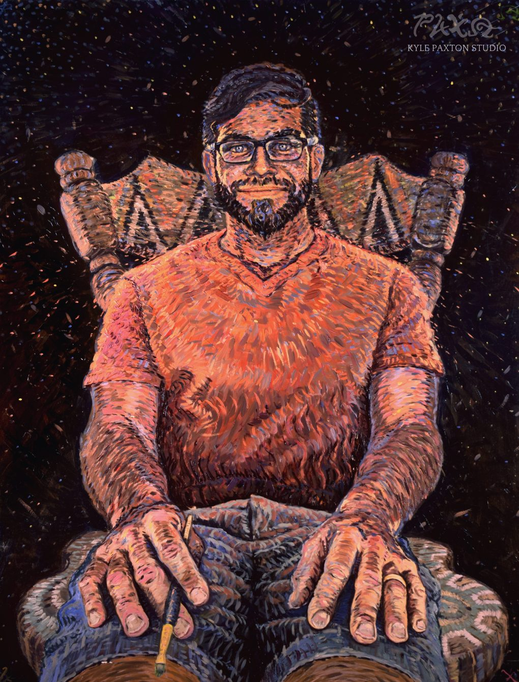 Portrait of Andy Saczynski