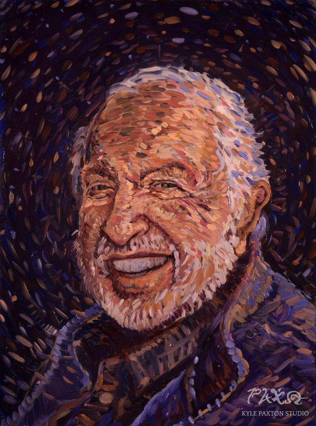Portrait of Bob Dean