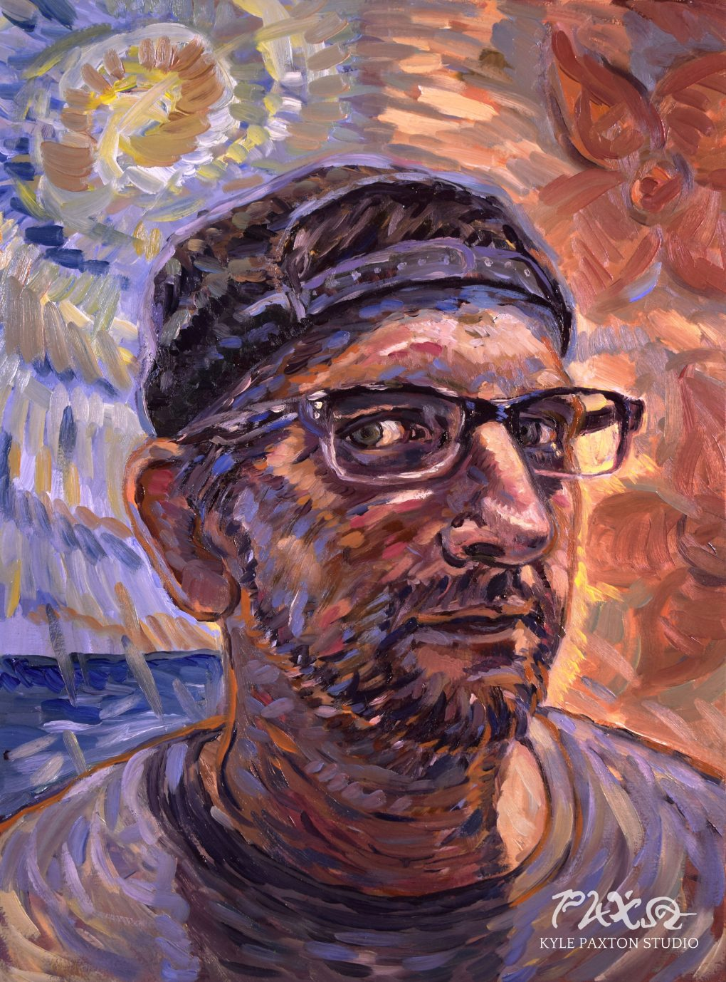 Portrait of Brian Wood