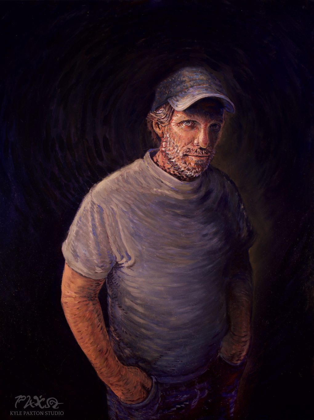 Portrait of Justin Gaffrey